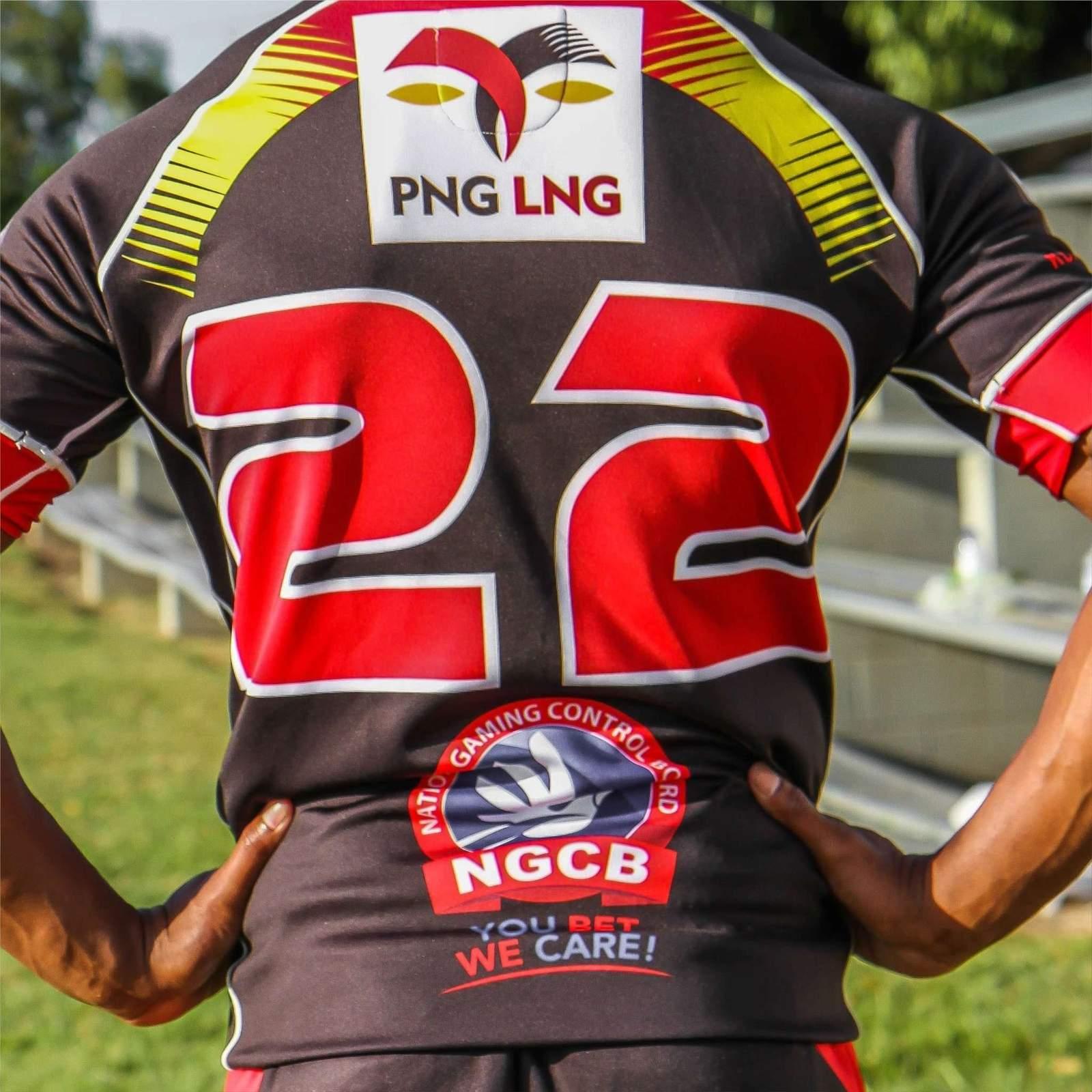 2018 SP PNG Hunters Replica Away Jersey.