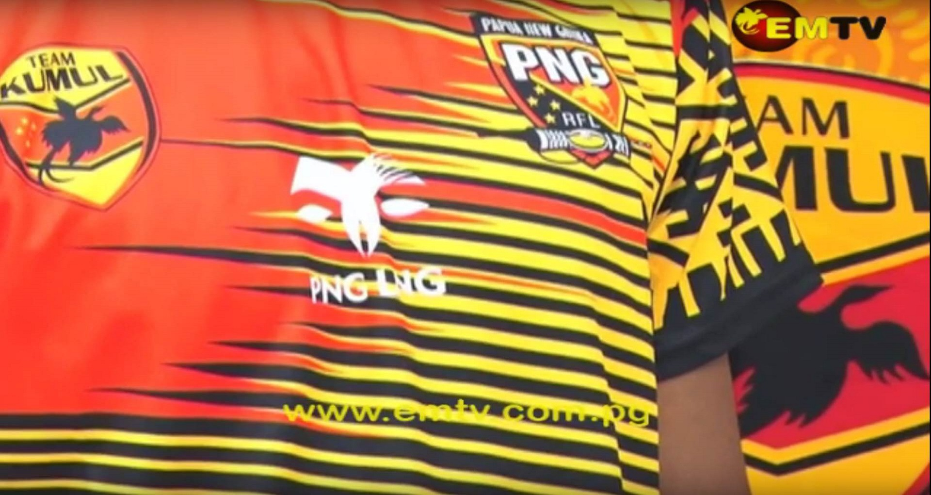 PNG Kumuls Supporter Merchandise Launched.