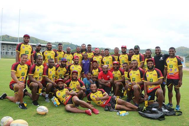 PNG Hunters name 2019 team.