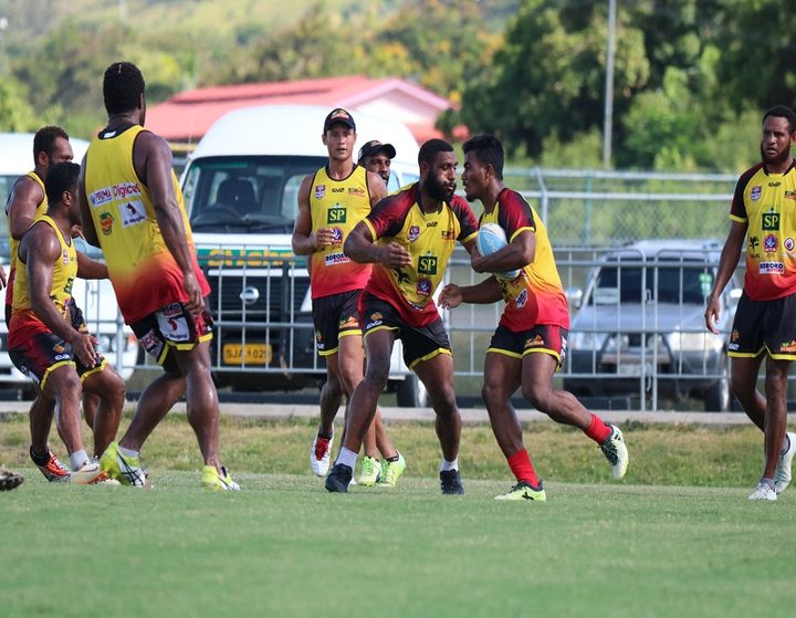 Sport: PNG Hunters to suspend players for missing training.
