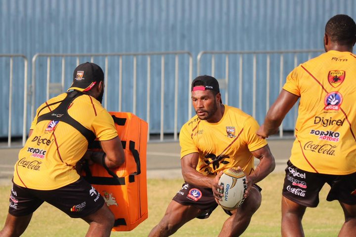 Sport: PNG Hunters name new.