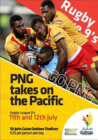 Pacific Games News & Results.