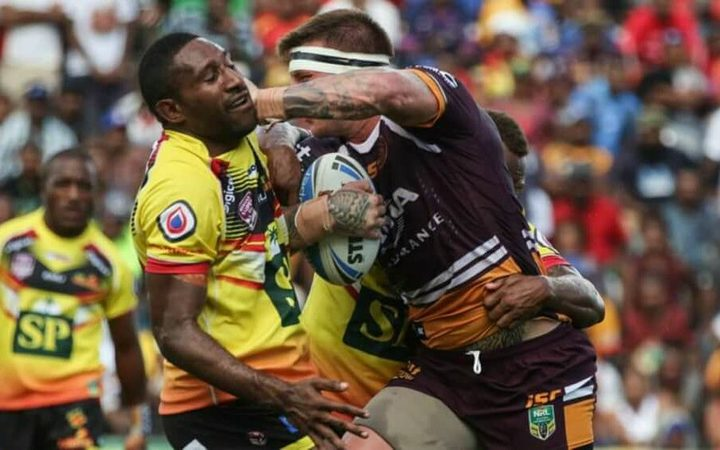 Sport: Brisbane Broncos cancel trial game vs PNG Hunters.