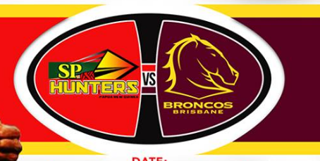 Broncos v PNG Hunters Trial Match live updates.