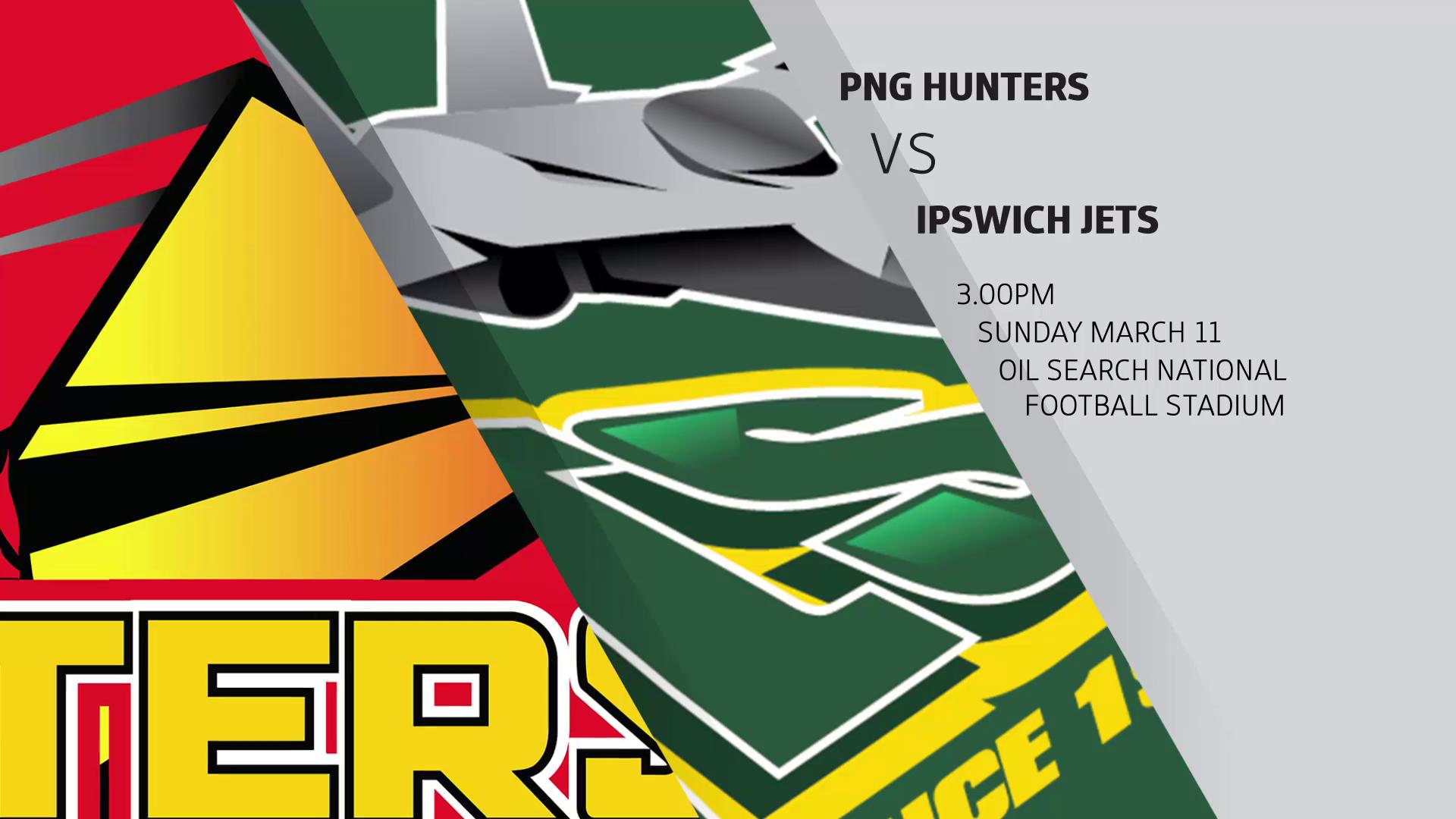 Intrust Super Cup Round 1 Highlights: Hunters v Jets.