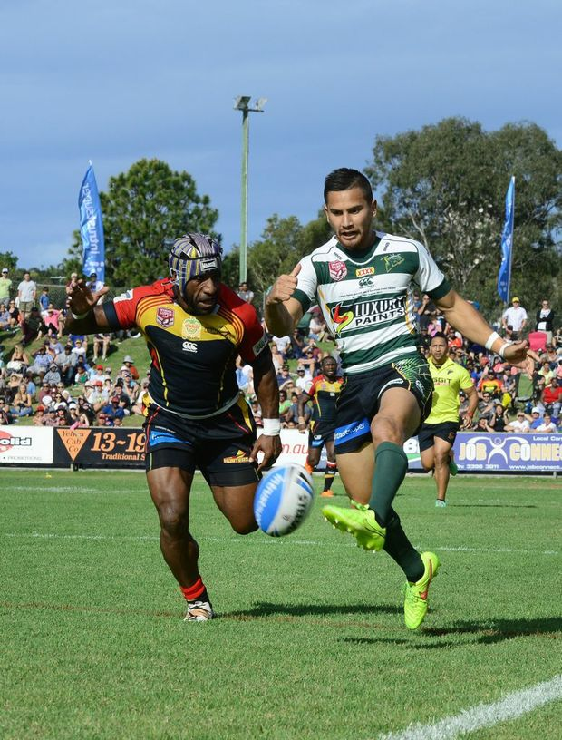 Queensland Cup semi final match between Ipswich Jets Vs PNG.