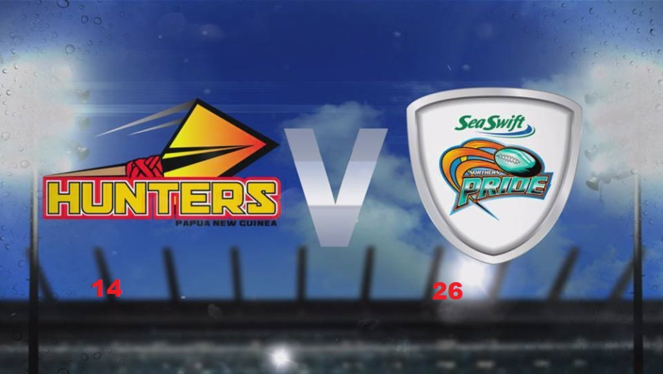 Northern Pride beat PNG Hunters 26.