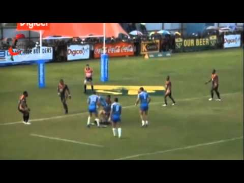 PNG HUNTERS VS NORTHERN PRIDE (RD 4 INTRUST SUPER CUP 2014).