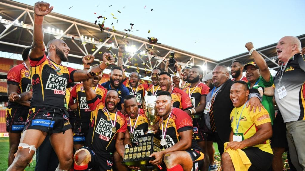 PNG Hunters v Penrith Panthers: Papua New Guinea gears up.