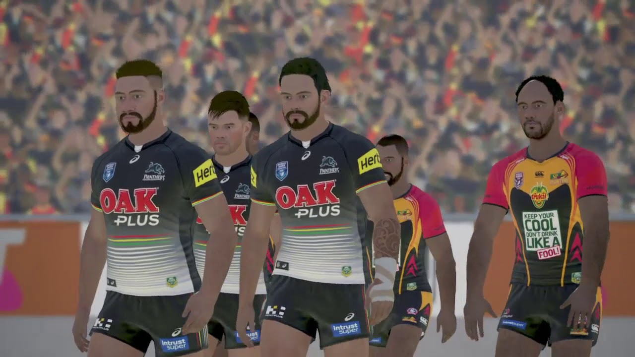 Rugby League Live 4 (PS4) Penrith Panthers v PNG Hunters (2017 State  Championship Grand Final).