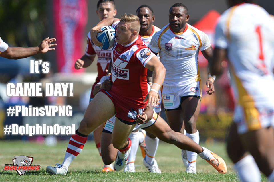 Redcliffe Dolphins hold PNG Hunters to 28.