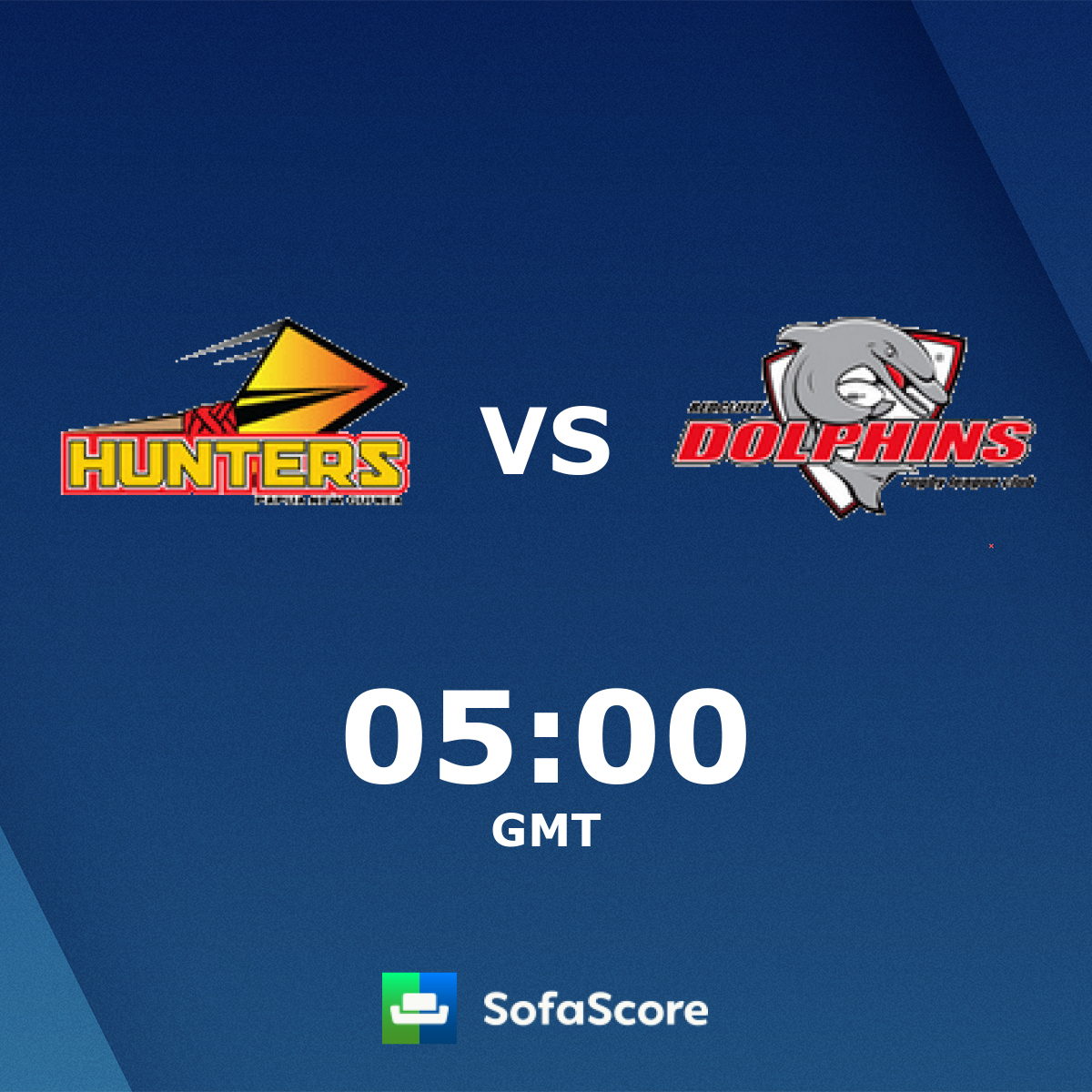Papua New Guinea Hunters Redcliffe Dolphins live score.