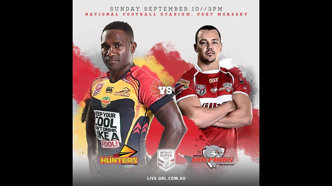 2017 ISC MS Redcliffe Dolphins vs PNG Hunters.