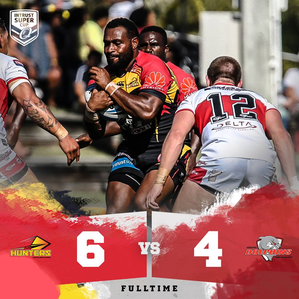 PNG Hunters book final spot after 6.