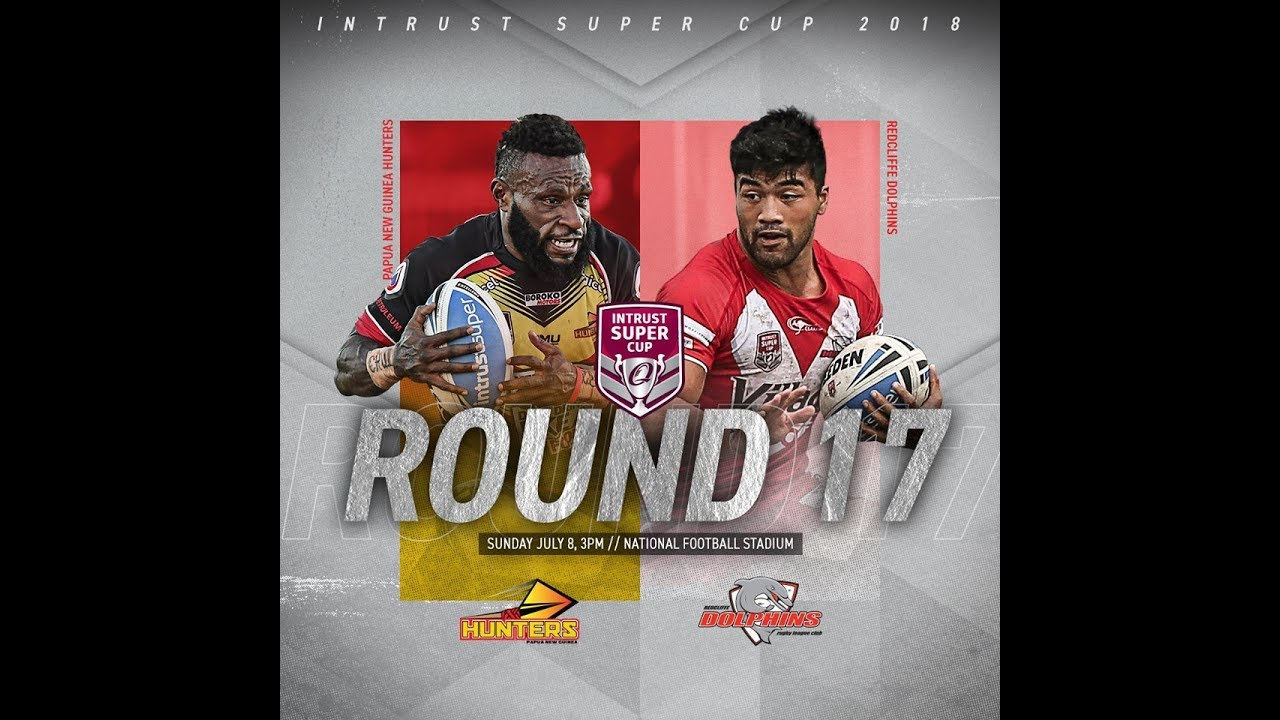 2018 ISC Rd 17 Redcliffe Dolphins vs PNG Hunters.