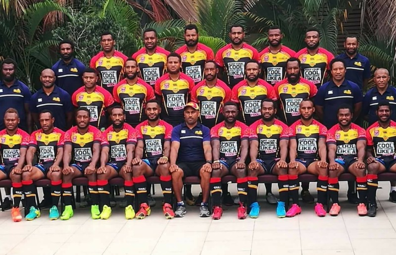 Q & A With PNG Hunters Team Manager Arnold Krewanty.
