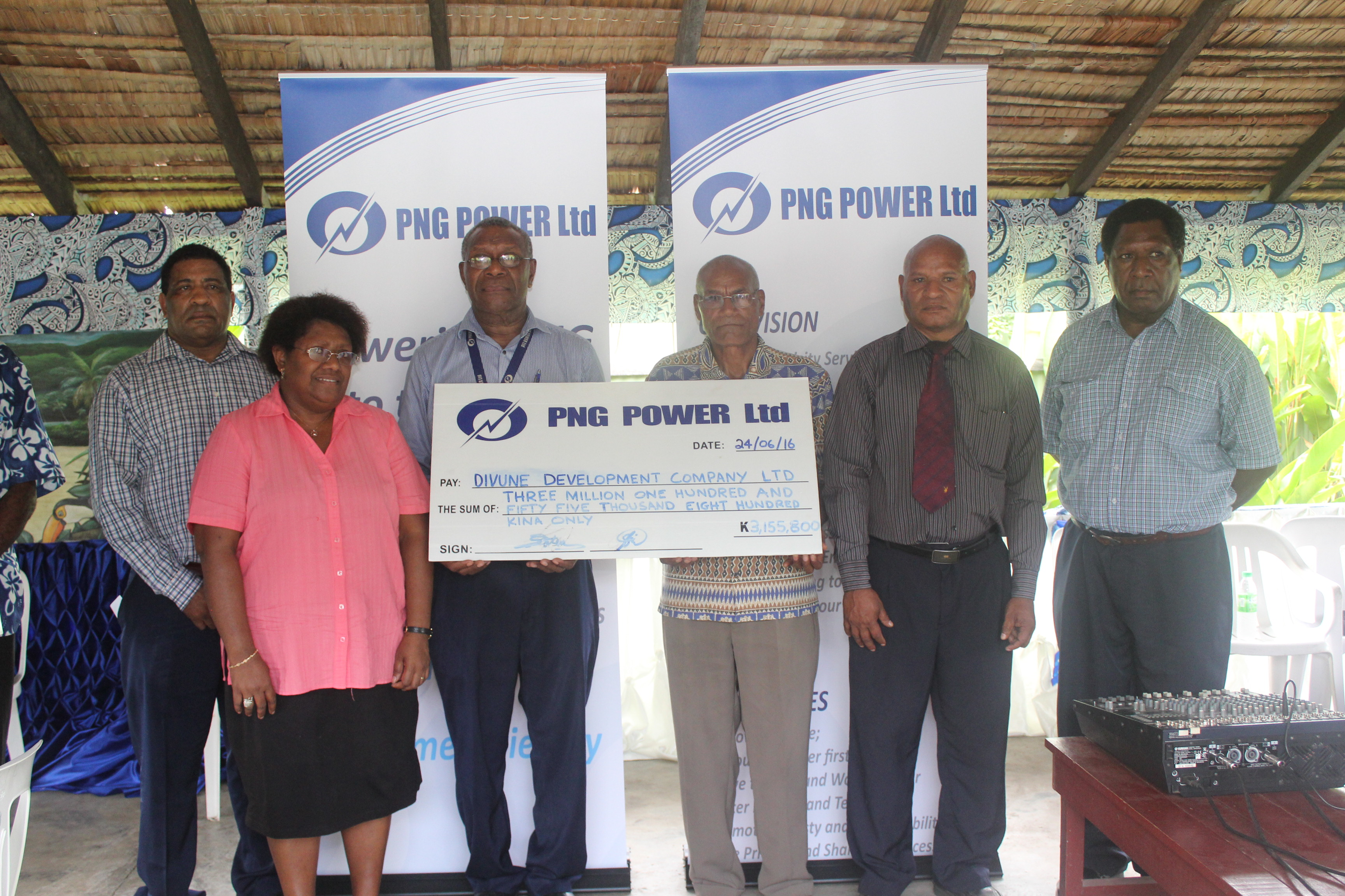 News > Divune Hydro Power Project MoA signed.