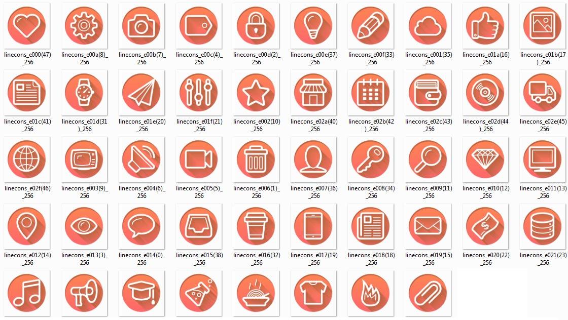 Icon builders.