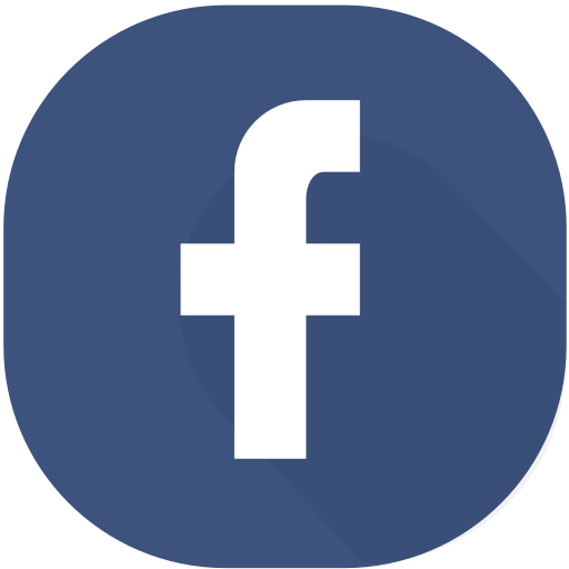 Circle, design, facebook, material, network, online, social icon.