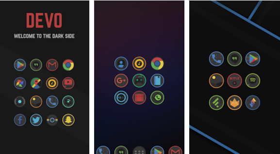 Devo Icon Pack MOD APK App for Android Free Download.
