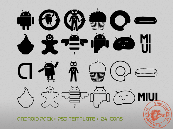 Android Icon Pack.