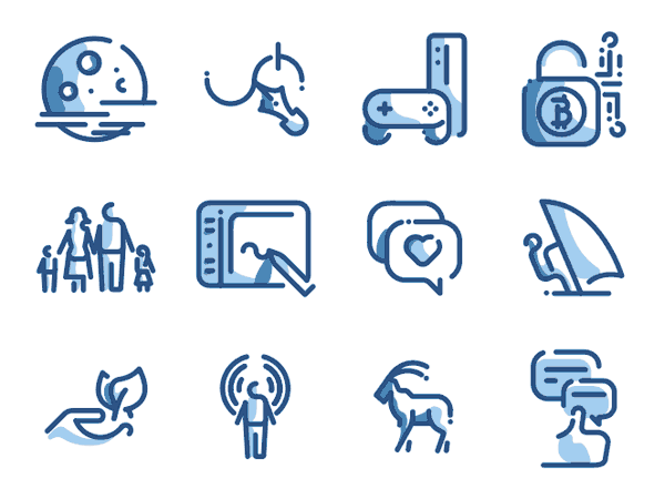 Premium vector icon packs.