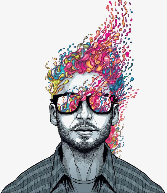 Download Free png Creative Man, Man Clipart, Illustration.