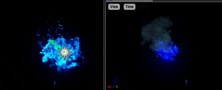 Why the color of Particle in Editor is much brighter than in.