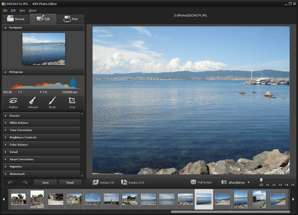 AVS Free Photo Editor is a free photo editing software..