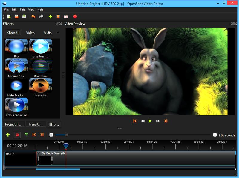 OpenShot Video Editor 2.4.4.