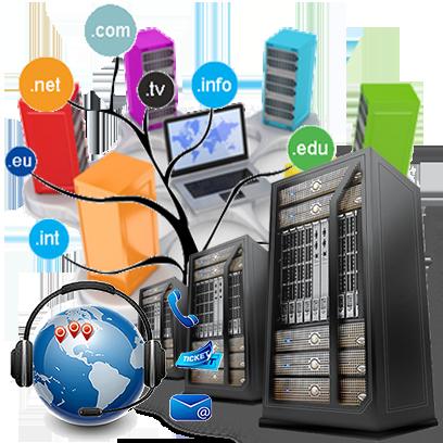 Web Hosting PNG HD.