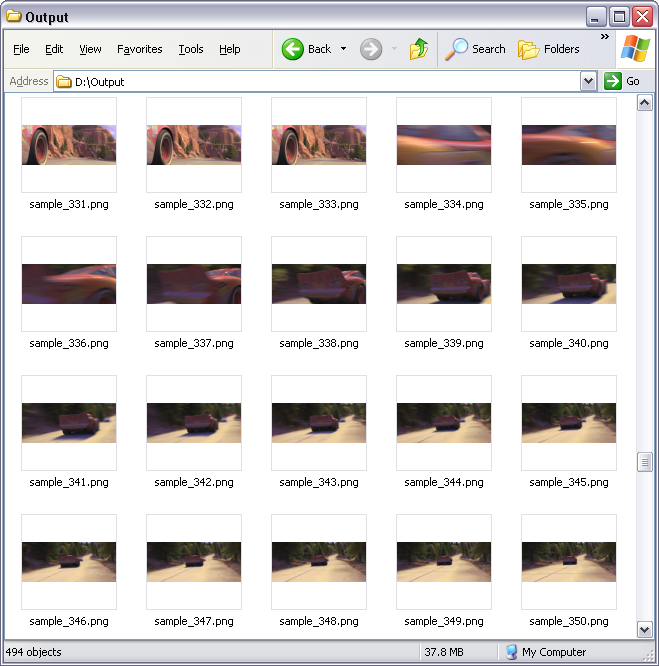 Convert Video Clips to PNG Sequence, Video to PNG Sequence.