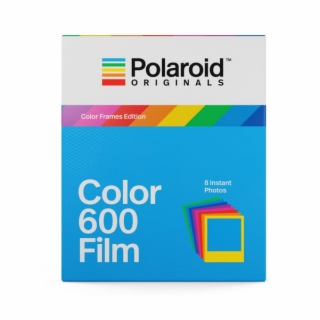 Polaroid 600 Type Colour With Colour Frames.