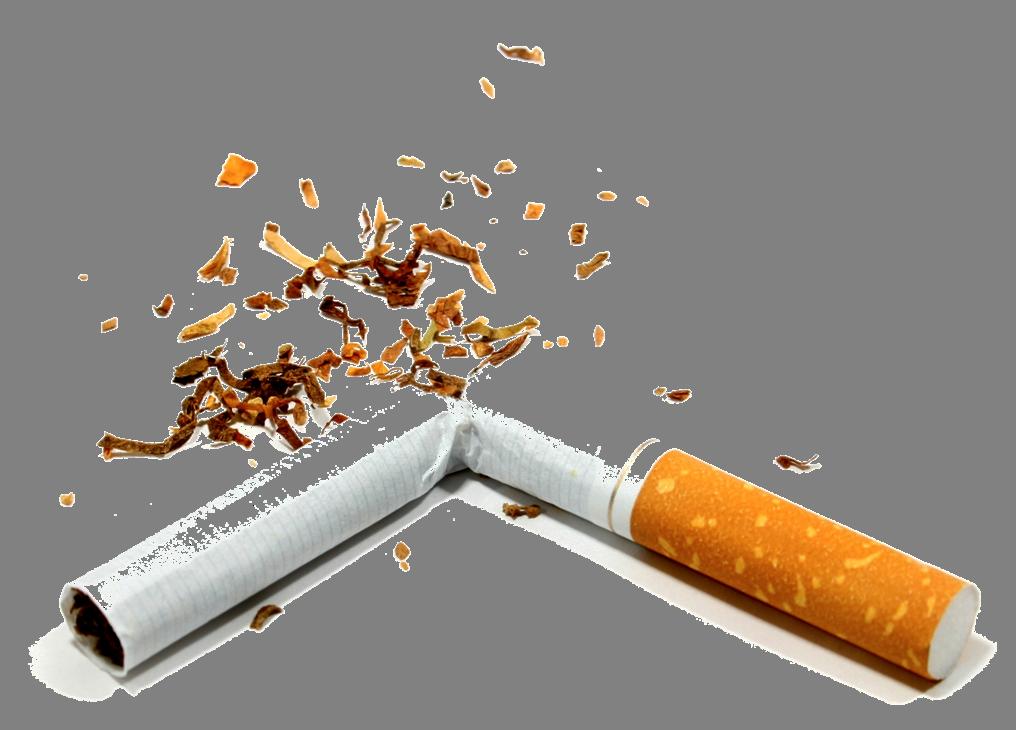 Broken Cigarette PNG Image.