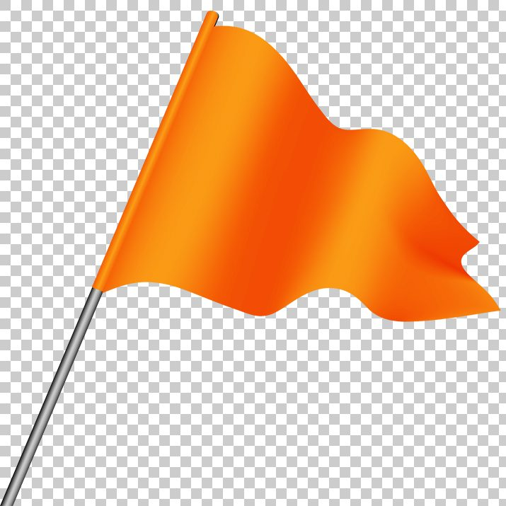 Orange Flag PNG Image Free Download searchpng.com.