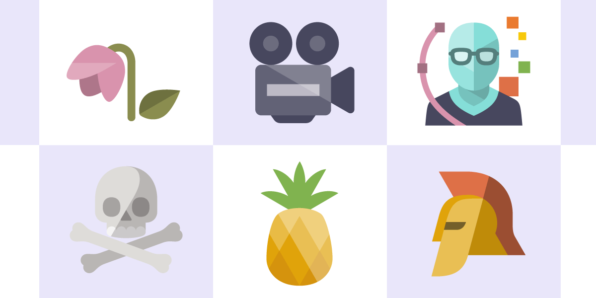 3049 Flat Icons, Ai, SVG & PNG Formats, 24 Categories.