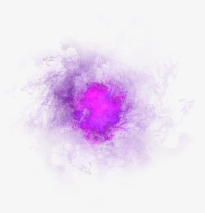 Purple Pink Smoke Effect Png Image.