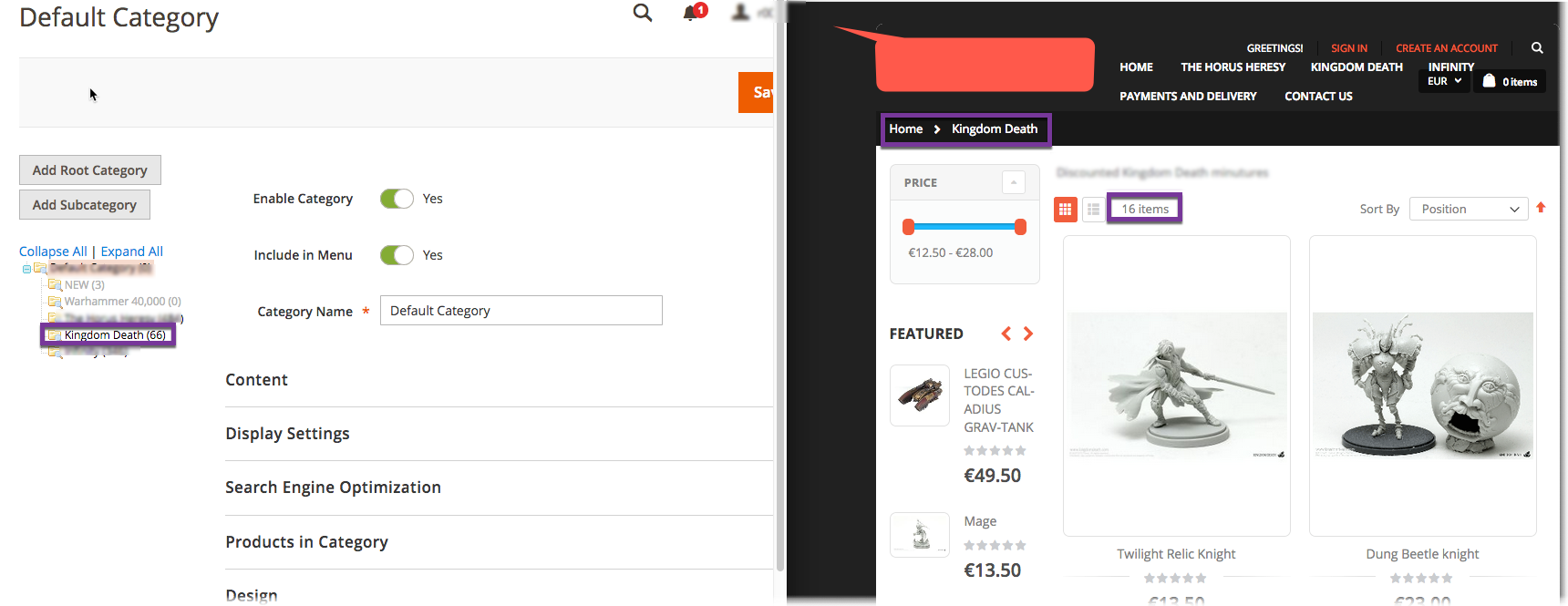 Magento 2 Products Not Showing in Category (but are visible.