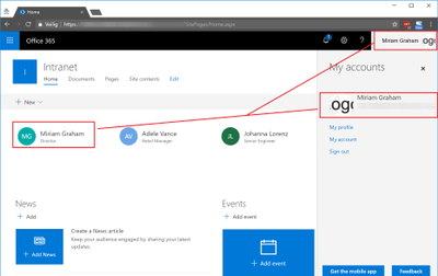 Office 365 Profile picture not displayed inside SharePoint.