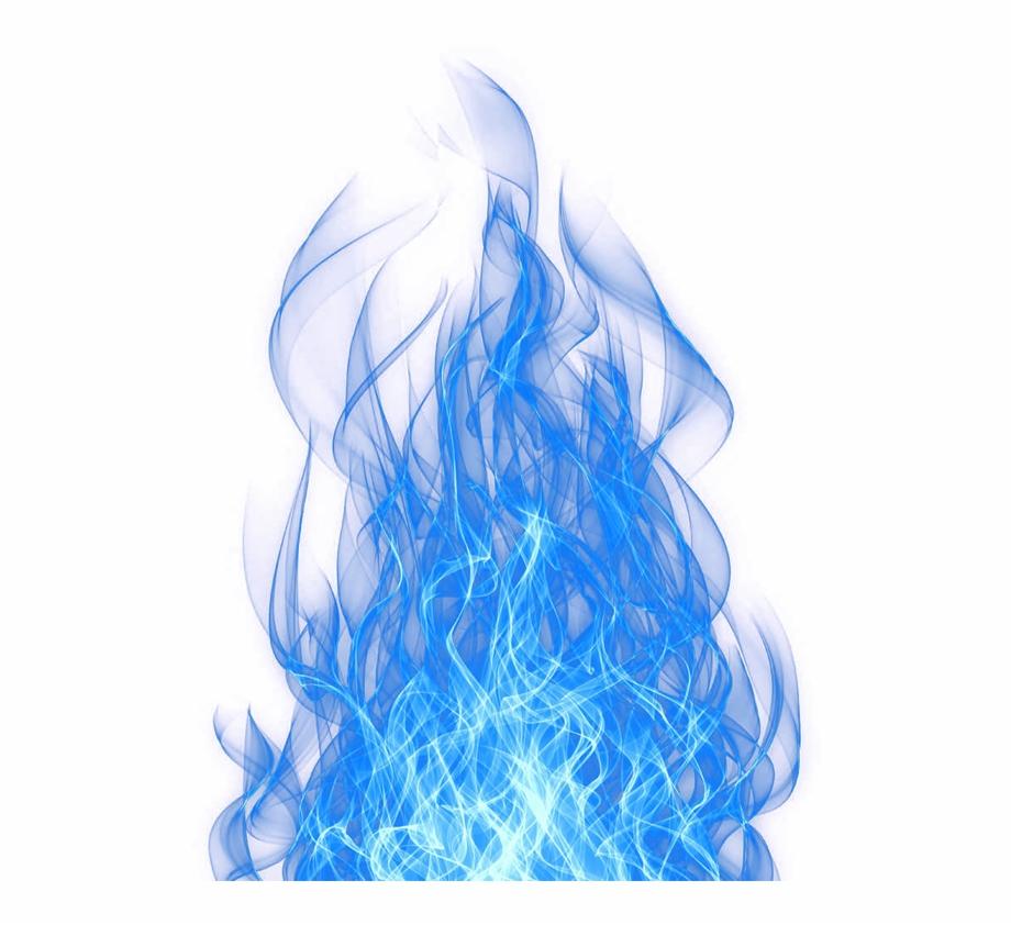 Smoke Blue Effect.