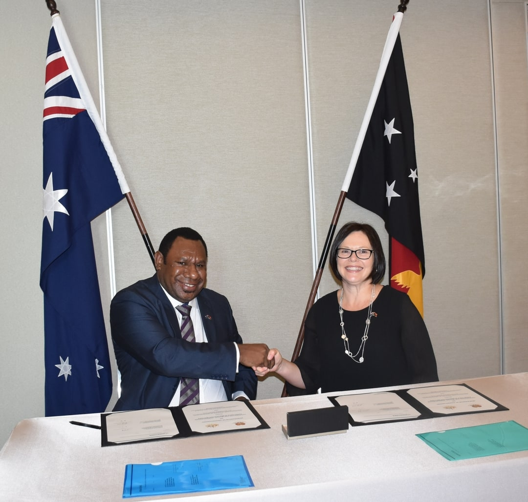 PNG Immigration signs Joint Cooperation Agreement with.