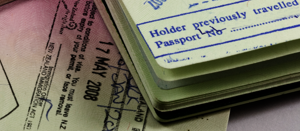 Visa for New Zealand.