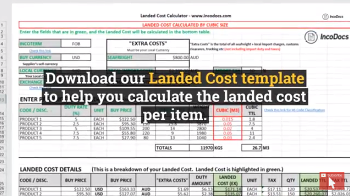 How to Calculate the Landed Cost of Imported Goods?.
