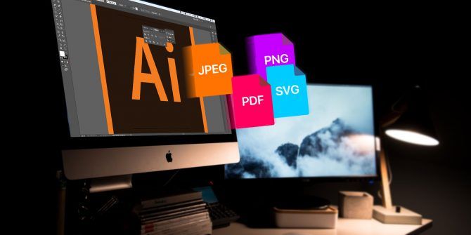 How to Save Adobe Illustrator Files in Other Formats: JPEG.