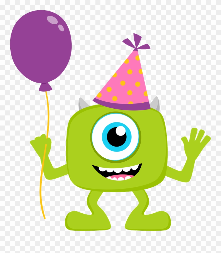 Monsters Inc Clip Art Free Clipart De Monster Party.