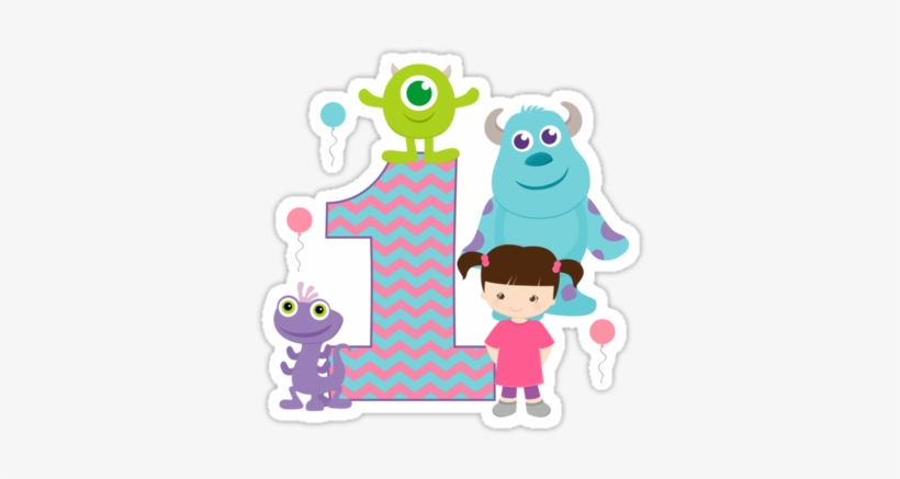 Baby Monsters Inc 1st First Birthday By Sweetsisters.