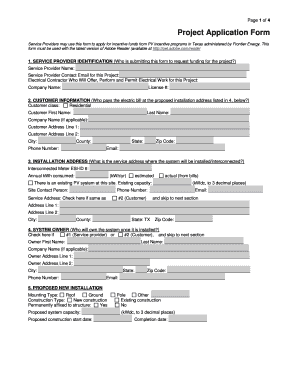 Fillable Online Service Providers may use this form to apply.