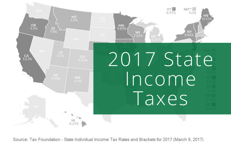 2017 State Income Taxes.