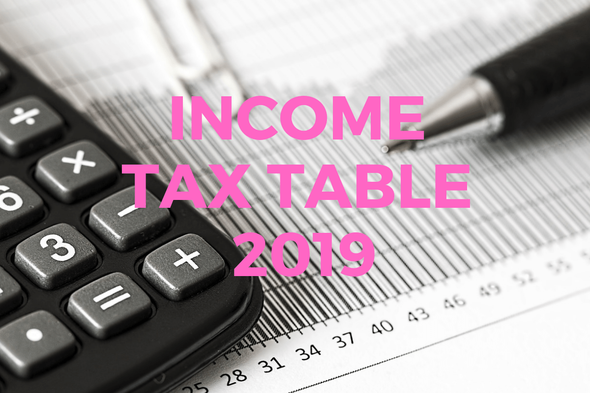 New Income Tax Table 2019 Philippines.