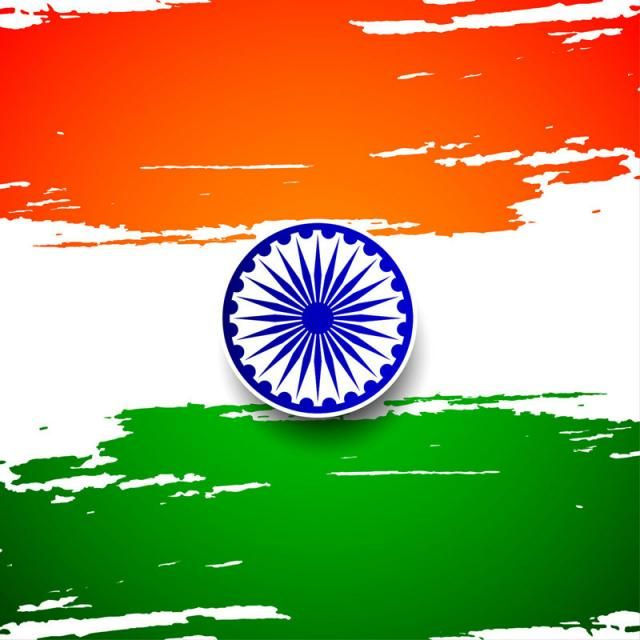 Abstract Indian Flag Theme Background Design Flag Of India.